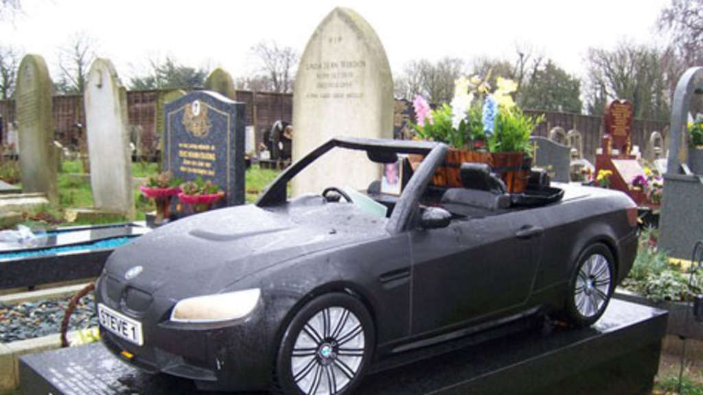 Auto Grab Friedhof