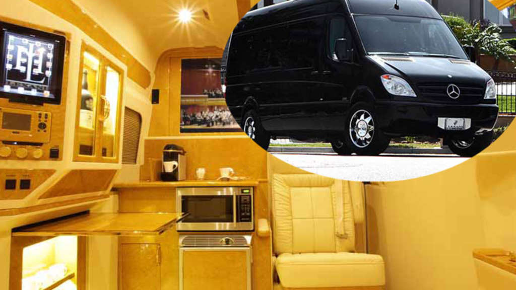 Mercedes Sprinter Luxus Version