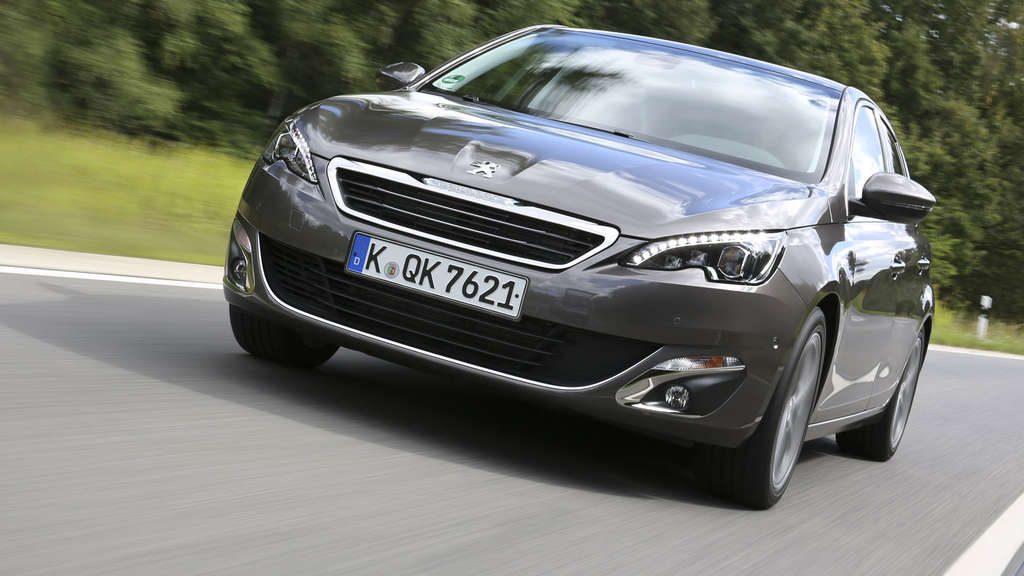 "Peugeot 308 ist das ""Car of the Year 2014"""
