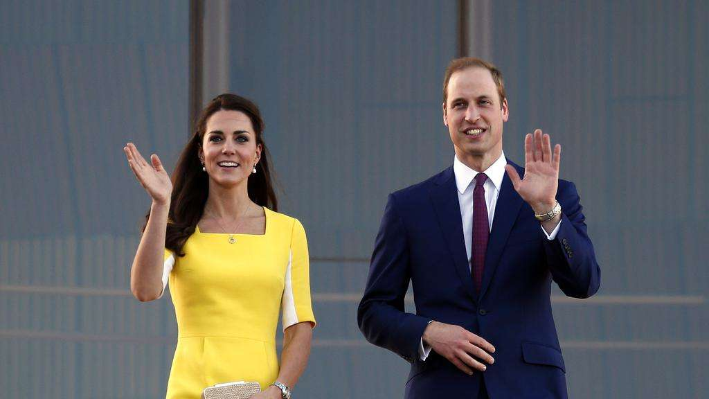 Foto: William und Kate setzen ihre Reise nun in Australien fort.