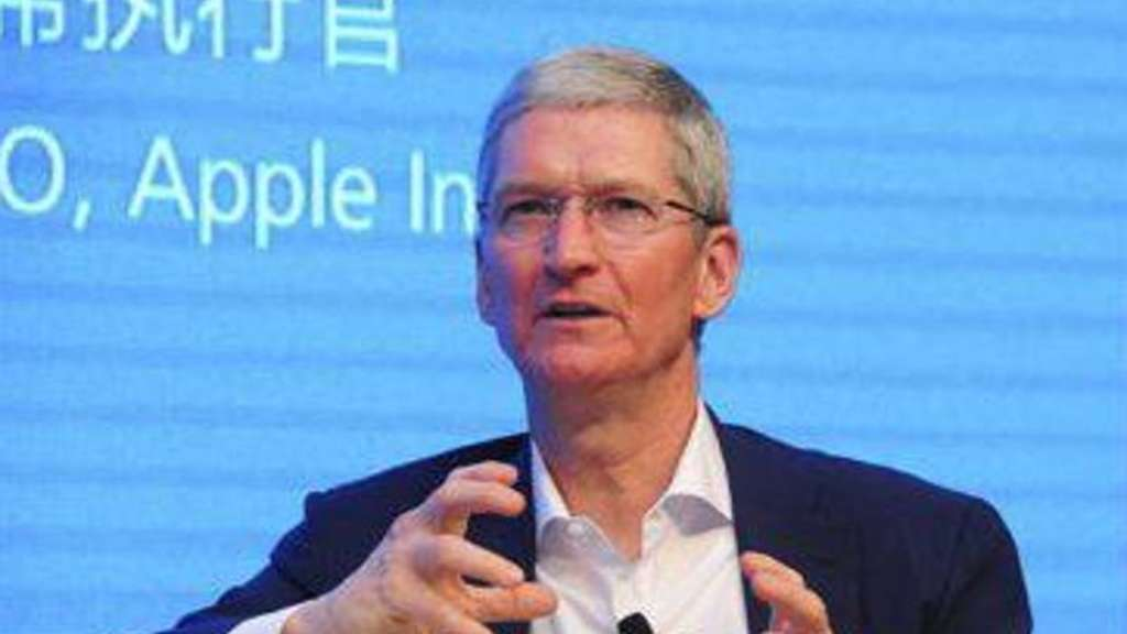 Microsoft-Chef Tim Cook. Foto: Tsinghua University
