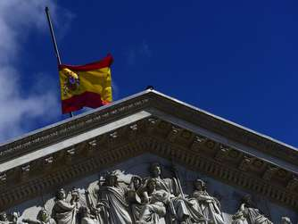 Germanwings, Absturz, Spanien, Flagge, Halbmast