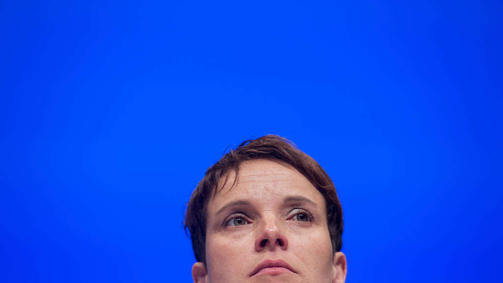 Foo: AfD-Bundesvorsitzende Frauke Petry.