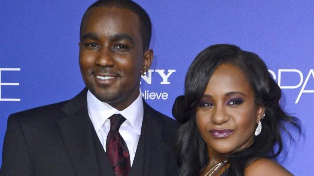 Bobbi Kristina Brown (r.) mit ihrem Stiefbruder Nick Gordon 2012 in Hollywood. Foto: Paul Buck
