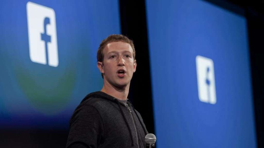 "Arbeitet nun doch am ""Dislike""-Button: Facebook-Chef Mark Zuckerberg. Foto: Peter Da Silva/Archiv"