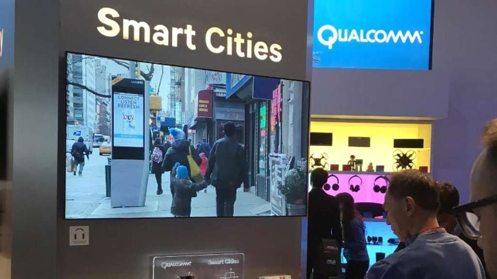 Smart Cities? Diese WLAN-Terminals sollen in New York Telefonzellen ersetzen. Foto: Jenny Tobien