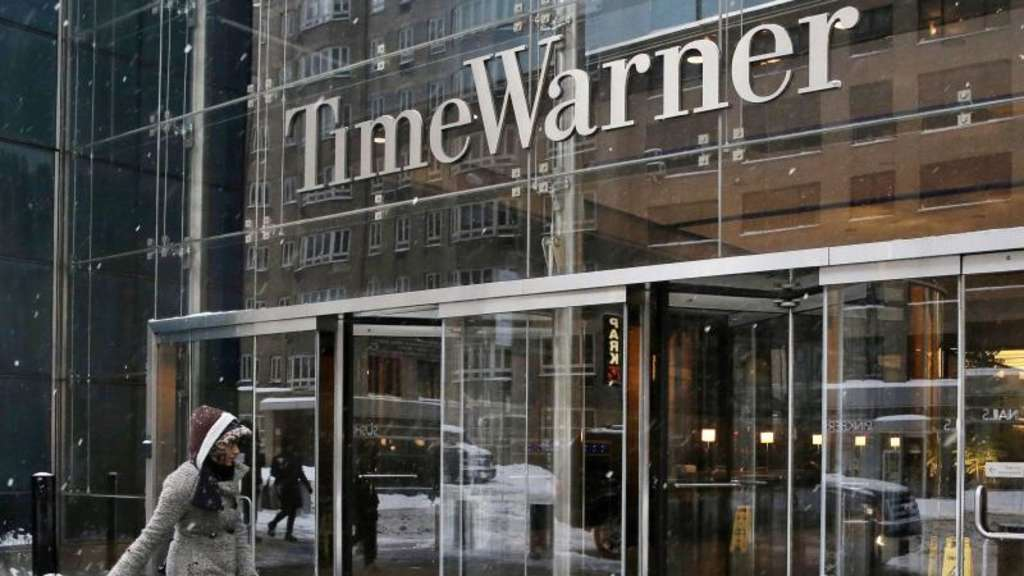 Das Time-Warner-Center in New York, die Zentrale des Medienkonzerns. Foto: Jason Szenes