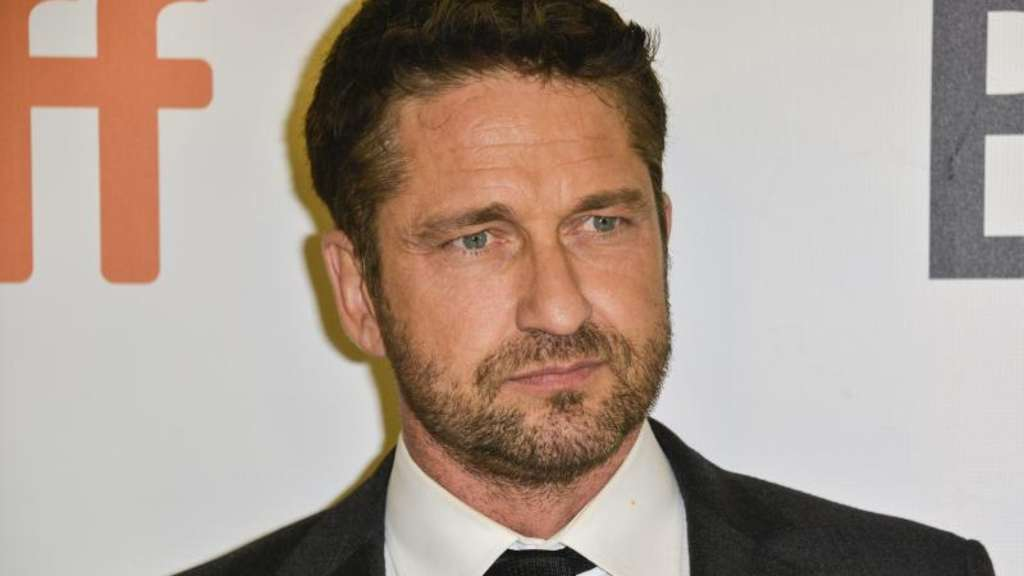 "Gerard Butler stellt ""The Headhunter&#39s Calling"" in Toronto vor. Foto: Warren Toda"
