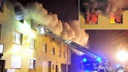 Video: Wohnhausbrand in Korbach