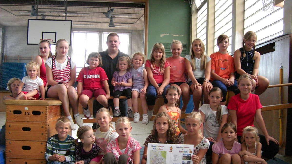 Vfl turnkinder entwerfen den ersten kinderstadtplan f r for Bad entwerfen