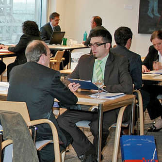 Job-Speed-Dating: Verkuppelt mit dem neuen Chef