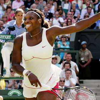 Serena Williams im Wimbledon-Halbfinale