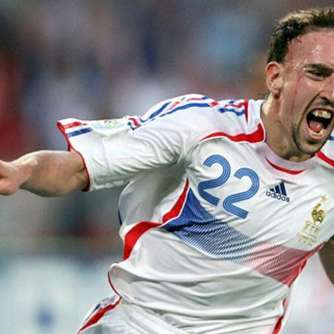 Ribéry in Bestform? Blanc: