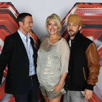 "Solider Start der Castingshow ""X Factor"""
