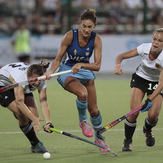 Hockey-Damen unterliegen Argentinien