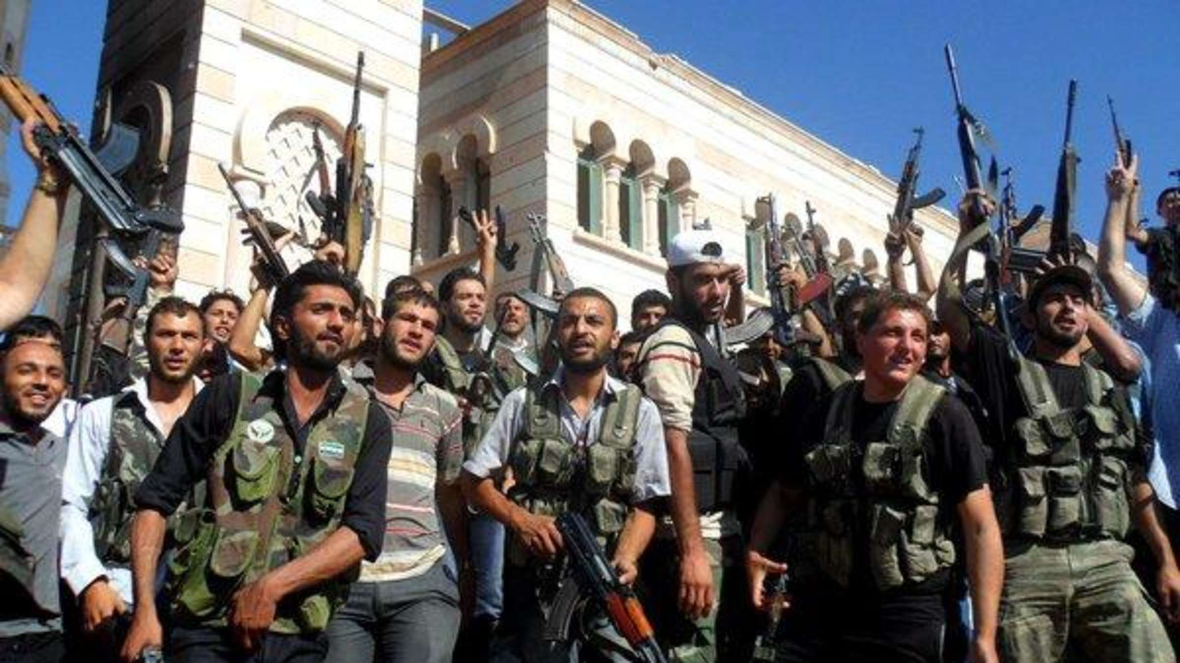 Bürgerkrieg in Syrien eskaliert   Politik