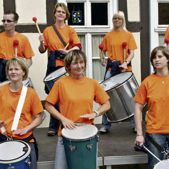 Samba bei Messe in Willingen