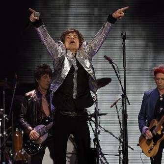 Fans feiern Rolling Stones in London