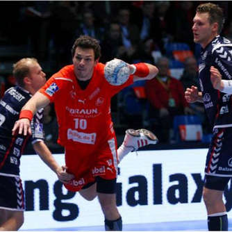 Handball-Bundesliga: Melsungen trotzt Favoriten Flensburg (26:26)