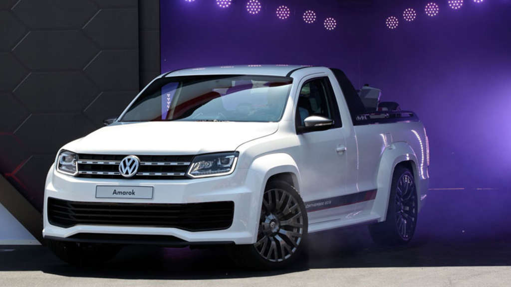 Amarok Wörthersee Studie – Der Power-Pickup