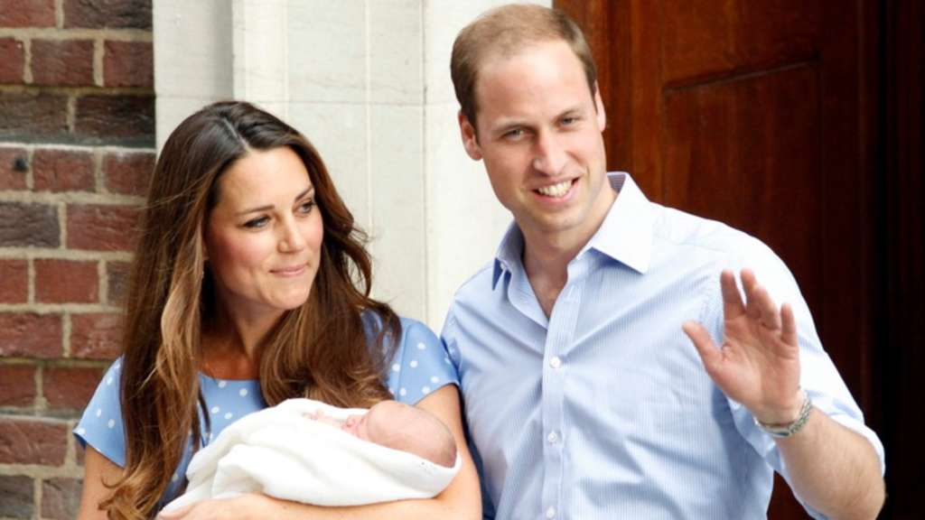 Kate Middleton Prinz George Prinz William