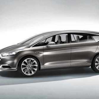Neuer Familienvan: Ford S-Max Concept