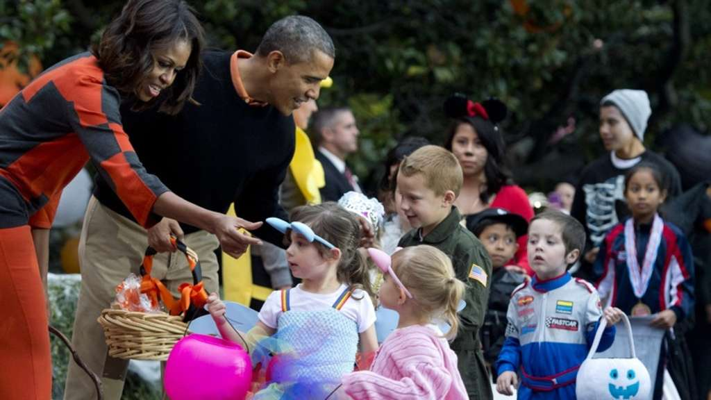 Halloween, Barack Obama, Michelle Obama