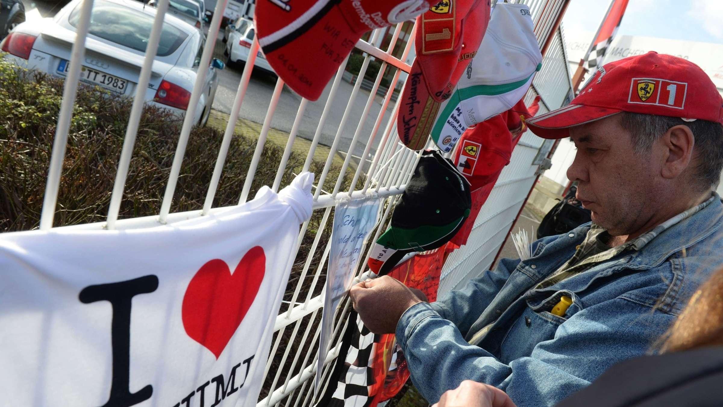 So Hoffen Die Fans An Michael Schumachers 45 Geburtstag Uberregionaler Sport