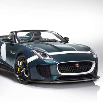 Wow! Jaguar F-Type Project 7