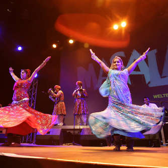 Bollywood im Pavillon