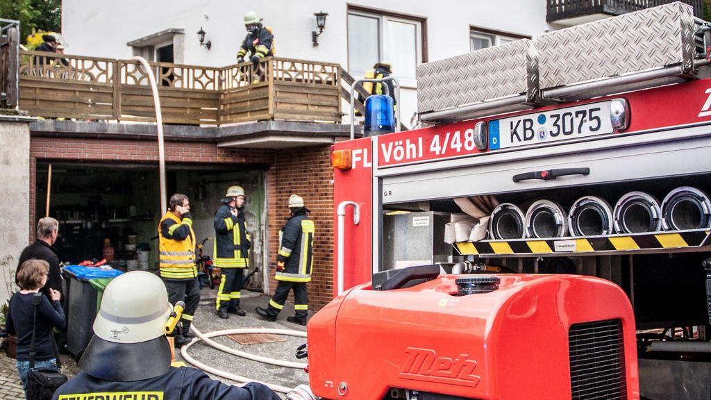 Strom-Hauptverteiler in Brand geraten   Landkreis