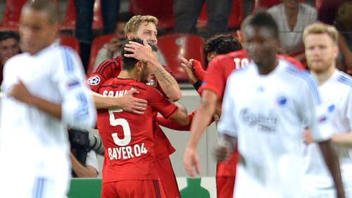 4:0: Bayer stürmt in Champions League
