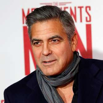 Er hat Rücken: Clooney in Solinger Klinik