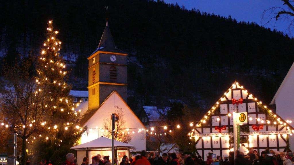 Willingen Weihnachtsmarkt.Höhepunkte Im Dezember Korbach