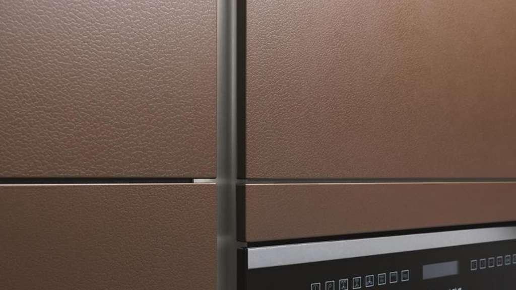 Steinzeit in der Küche - Möbelfronten aus Beton und Schiefer | Wohnen