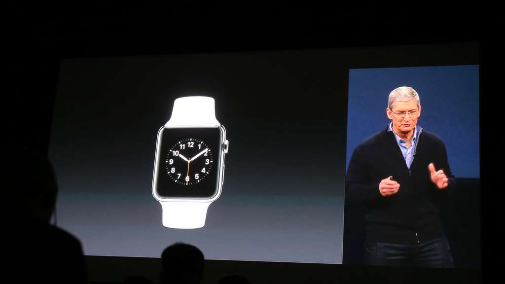 Apple watch, Tim Cook