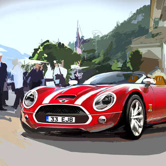 Mini Superleggera: offizielle Design-Skizzen