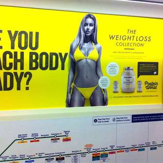 "London verbannt ""Beachbody"" aus der U-Bahn"