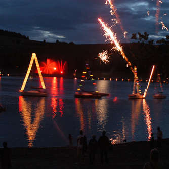 """Diemelsee in Flammen"""