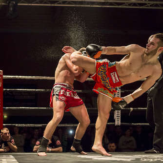Impressionen der Fight-Night 2016
