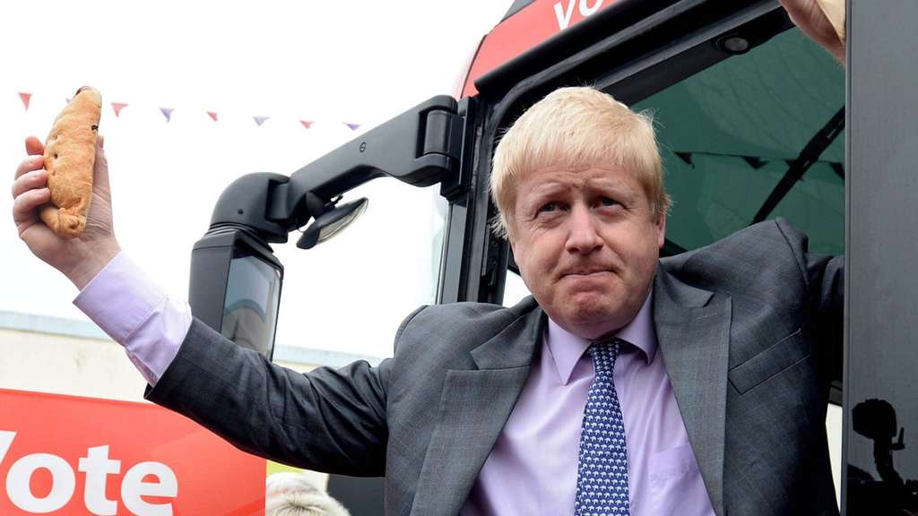Vote Leave Bus Tour of Boris Johnson
