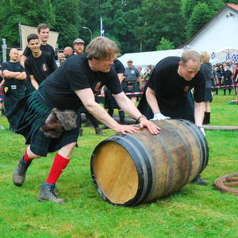 Vierte Highland Games Canstein 2016