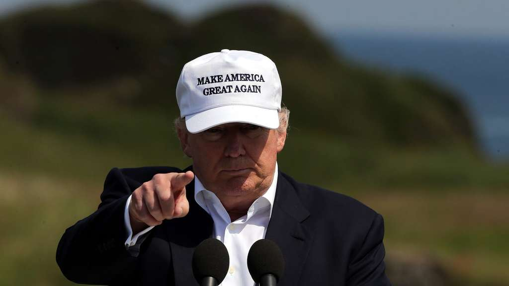 Donald Trump in Scotland to re-open golf course