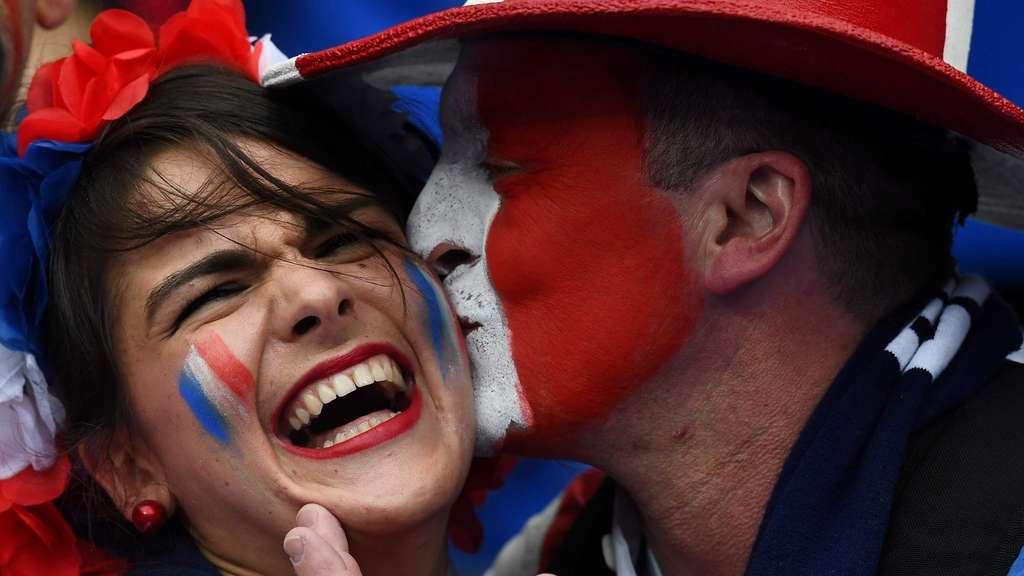Em Frankreich Gegen Island