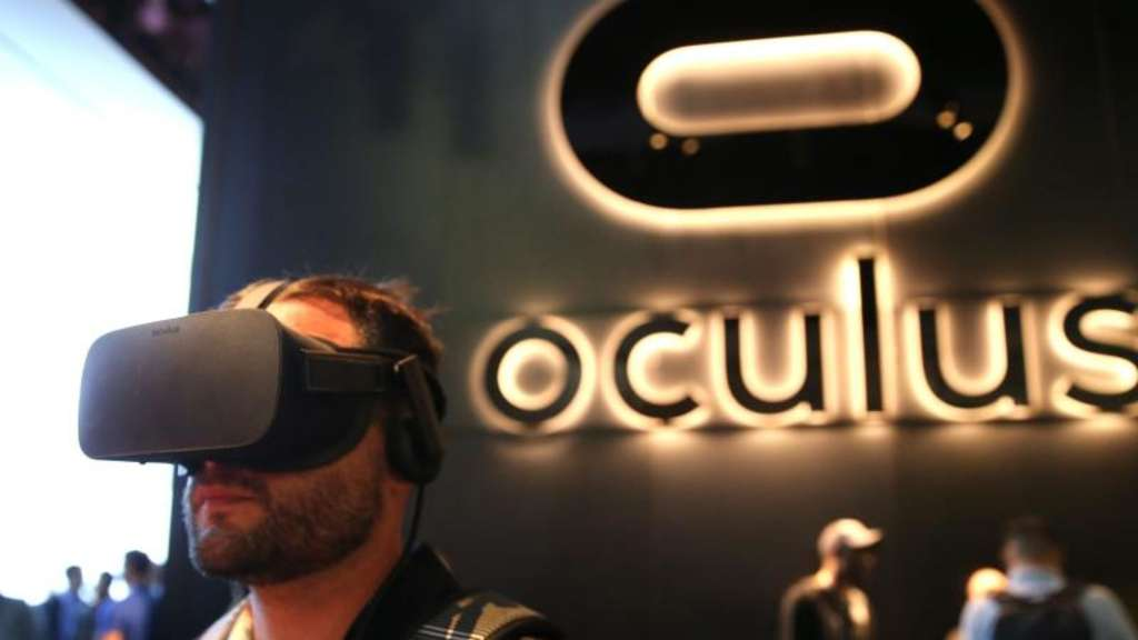 Oculus-Stand auf der Messe E3 (Electronic Entertainment Expo) in Los Angeles im Juni. Foto: Mike Nelson