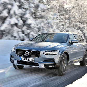 Schneekönig: Volvo V90 Cross Country