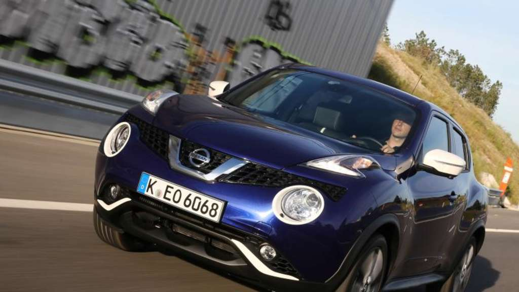 der nissan juke im gebrauchtwagen check auto. Black Bedroom Furniture Sets. Home Design Ideas