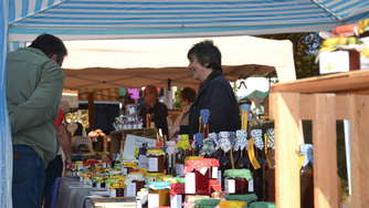 Herbstmarkt des Nationalparks