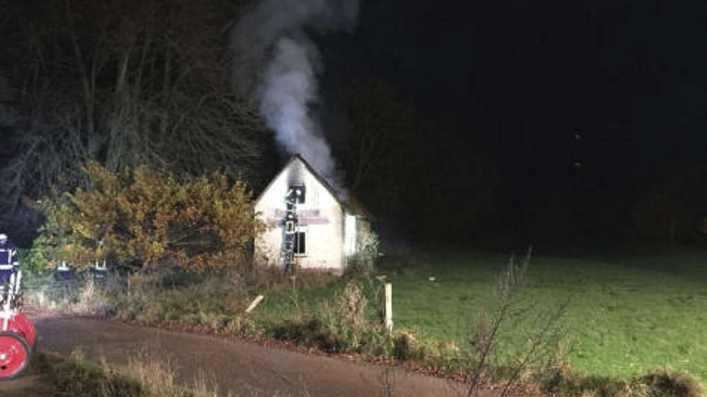 Brandstiftung in Mengeringhausen
