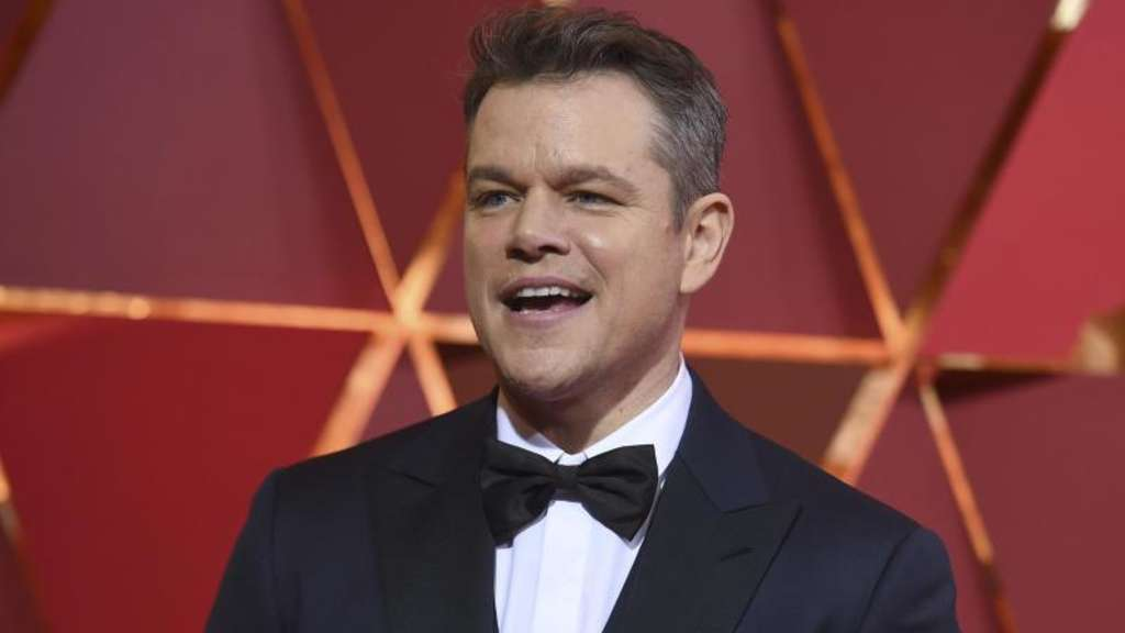 Matt Damon bei den Oscars 2017. Foto: Richard Shotwell